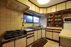 キッチンの様子3。(2012-03-24,共用部,KITCHEN,1F)