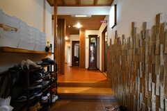 正面玄関から見た内部の様子。(2016-12-12,周辺環境,ENTRANCE,1F)