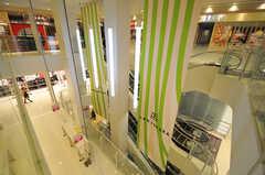 隣の上本町駅にある駅直結のショッピングモール「上本町YUFURA」の様子。(2014-03-06,共用部,ENVIRONMENT,1F)
