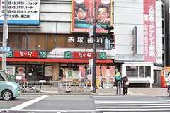 大阪市営地下鉄谷町線・関目高殿駅周辺の様子。(2017-02-22,共用部,ENVIRONMENT,1F)