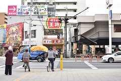 大阪市営地下鉄谷町線・関目高殿駅周辺の様子2。(2017-02-22,共用部,ENVIRONMENT,1F)