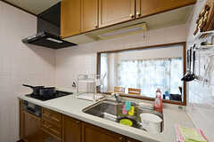 キッチンの様子2。(2016-07-05,共用部,KITCHEN,3F)