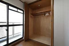 収納の様子。(304号室)(2016-07-05,専有部,ROOM,3F)
