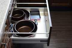 調理器具はこちら。(2015-06-15,共用部,KITCHEN,7F)