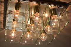 個性的な照明です。(2015-06-15,共用部,OTHER,7F)