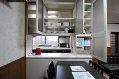 食器棚の様子。(2013-10-14,共用部,OTHER,1F)