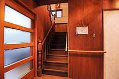 階段の様子。(2013-10-14,共用部,OTHER,1F)