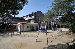 すぐ近くの公園。(2013-10-14,共用部,ENVIRONMENT,1F)