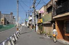 JR環状線・京橋駅からシェアハウスへ向かう道の様子。(2013-10-14,共用部,ENVIRONMENT,1F)