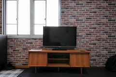 共用TVの様子。(2013-09-19,共用部,TV,3F)