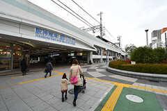 野田阪神駅前の様子。(2017-02-07,共用部,ENVIRONMENT,1F)