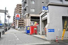JR東西線・海老江駅の様子。(2017-02-07,共用部,ENVIRONMENT,1F)