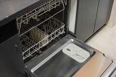 食器洗浄機が設置されています。(2015-08-11,共用部,KITCHEN,6F)