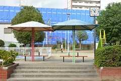 シェアハウス周辺の新喜多公園の様子。(302号室)(2016-11-01,共用部,ENVIRONMENT,1F)