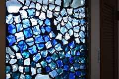 ガラスの装飾。(2015-05-18,共用部,OTHER,6F)
