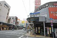 歩いてすぐに日本橋エリアの電気街に出られます。(2015-05-18,共用部,ENVIRONMENT,7F)