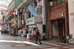 シェアハウスは商店街に並んでいます。(2017-03-28,共用部,ENVIRONMENT,1F)