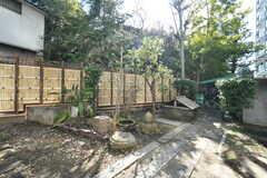 庭の様子。(2018-02-14,周辺環境,ENTRANCE,1F)