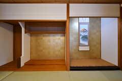 収納スペースの様子。(101号室)(2018-02-14,専有部,ROOM,1F)