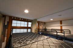 ベッドの様子。(105b号室)(2018-02-14,専有部,ROOM,1F)
