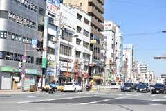 大阪市営地下鉄谷町線・都島駅周辺の様子。(2018-02-14,共用部,ENVIRONMENT,1F)