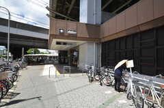 大阪市営地下鉄谷町線・駒川中野駅の様子。(2014-08-05,共用部,ENVIRONMENT,1F)