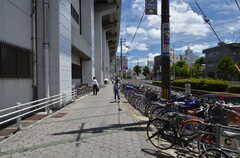 大阪市営地下鉄谷町線・駒川中野駅前の様子。(2014-08-05,共用部,ENVIRONMENT,1F)