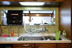 キッチン周辺の様子。食洗機もあります。(2015-01-13,共用部,KITCHEN,1F)