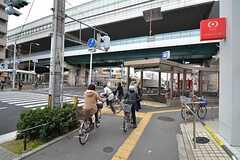 各線・緑橋駅の様子。(2015-01-13,共用部,ENVIRONMENT,1F)