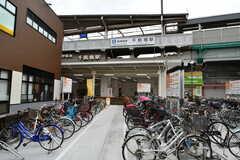 阪神なんば線・千鳥橋駅の様子。(2018-04-11,共用部,ENVIRONMENT,1F)