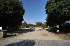シェアハウス近くの公園の様子。(2013-10-28,共用部,ENVIRONMENT,1F)