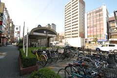 大阪市営地下鉄御堂筋線・西田辺駅の様子。(2013-10-28,共用部,ENVIRONMENT,1F)