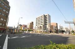 大阪市営地下鉄御堂筋線・西田辺駅前の様子。(2013-10-28,共用部,ENVIRONMENT,1F)
