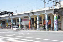 大阪市営地下鉄千日前線・玉川駅周辺の様子。(2018-03-14,共用部,ENVIRONMENT,1F)