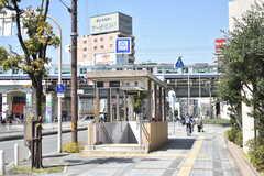 大阪市営地下鉄千日前線・玉川駅の様子。(2018-03-14,共用部,ENVIRONMENT,1F)