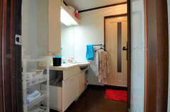 脱衣室の様子。(2010-11-26,共用部,BATH,7F)