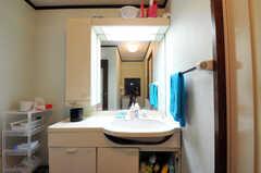 洗面台の様子。(2010-11-26,共用部,OTHER,7F)