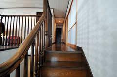 階段の様子。(2010-11-26,共用部,OTHER,8F)