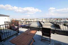 屋上の様子。(2010-11-26,共用部,OTHER,9F)