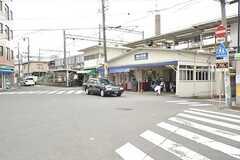 阪急京都本線・相川駅の様子。駅からシェアハウスまでは徒歩1分の距離です。(2016-02-15,共用部,ENVIRONMENT,1F)