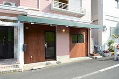テナントスペースの入り口の様子。(2013-04-09,共用部,OTHER,1F)