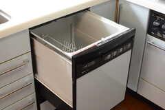 食器洗浄機付きです。(2017-07-12,共用部,KITCHEN,2F)