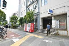 地下鉄四つ橋線・北加賀屋駅の様子。(2017-07-12,共用部,ENVIRONMENT,1F)