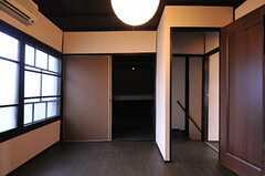 押入れの様子。(202号室)(2012-07-15,専有部,ROOM,2F)