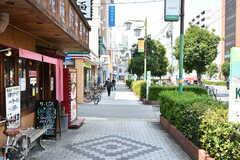 大阪市営地下鉄御堂筋線・西田辺駅前の様子。(2018-07-17,共用部,ENVIRONMENT,1F)