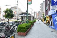 大阪市営地下鉄御堂筋線・西田辺駅の様子。(2018-07-17,共用部,ENVIRONMENT,1F)