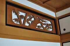 繊細な木細工。(101号室)(2012-10-25,専有部,ROOM,1F)