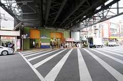 各線・鶴橋駅の様子。(2013-06-25,共用部,ENVIRONMENT,1F)