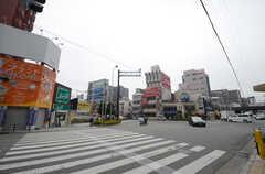 各線・鶴橋駅前の様子。(2015-02-17,共用部,ENVIRONMENT,1F)