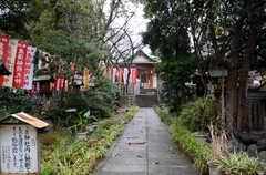 シェアハウス近くの神社。(2015-02-17,共用部,ENVIRONMENT,1F)